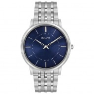 Gents Stainless Steel Rd Blue Dia 40Mm Case