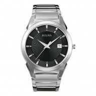 Stainless Steel Gents Rd Black Dial 38Mm Case,