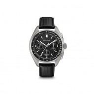 Gents Stainless Steel Rd Black Dial Chronograp