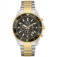 Stainless Steel Yellow Tt Gents 43Mm Case Rd Bl