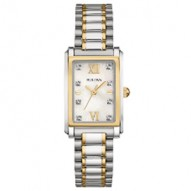 Stainless Steel Yellow Tt Ladies Rect 8Rd Dia Mo