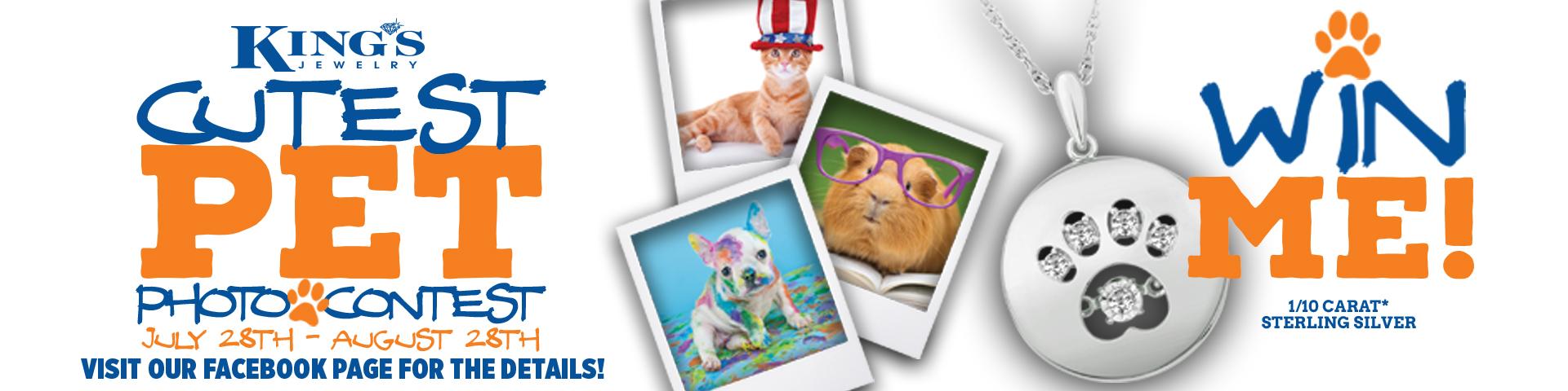 Cutest Pet Photo Contest!